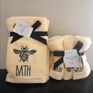 Rae Dunn Hands Towels